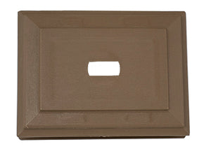 Mini Mount - Forest Brown - Piece - 39Z43066 - Timbermill Siding