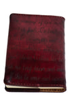 PASSAGES Handcrafted Antique-Style Engraved Leather Book Cover - Legacy Leather Books