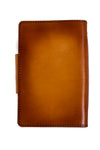 AUSTEN Handcrafted Antique-Style Engraved Leather Book Cover - Legacy Leather Books