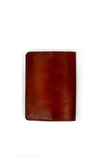 GAIA Handcrafted Antique-Style Engraved Leather Book Cover - Legacy Leather Books