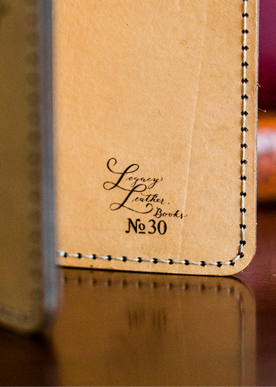 Legacy Leather Books unique serial number