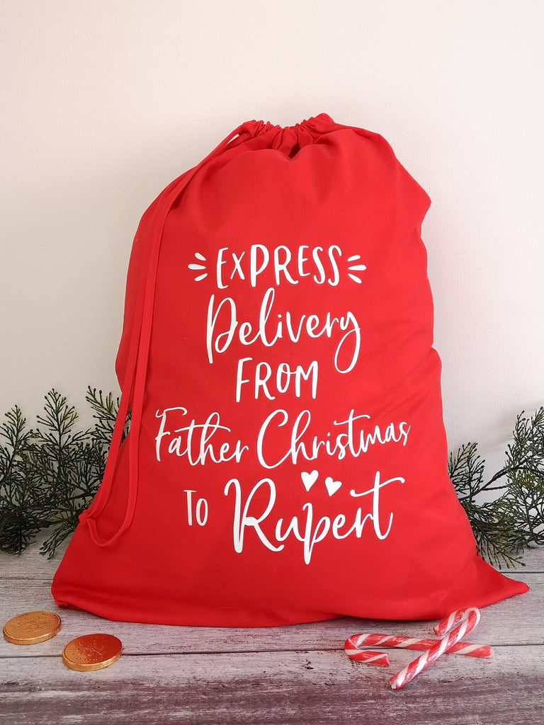 Express Delivery Christmas Sack