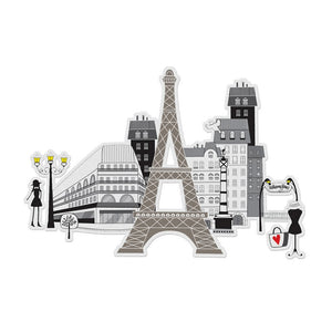 "Tarjetas para colorear ""3D Color City - Paris"" - Mini Labo"