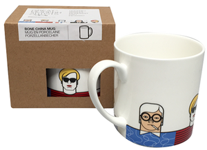 "Mug/Taza ""Great Modern Artists, Dali, Warhol, Picasso, Hockney"" - Andy Tuohy"
