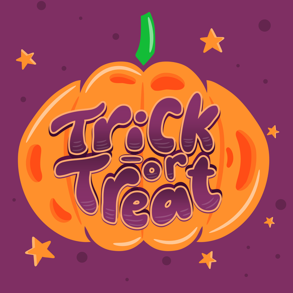 Trick Or Treat Pumpkin Halloween Diamond Painting Kit