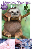 Diamond Painting Starter Kit ~ Happy Sloth