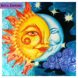 Sun & Moon Art Nouveau Diamond Painting Kit