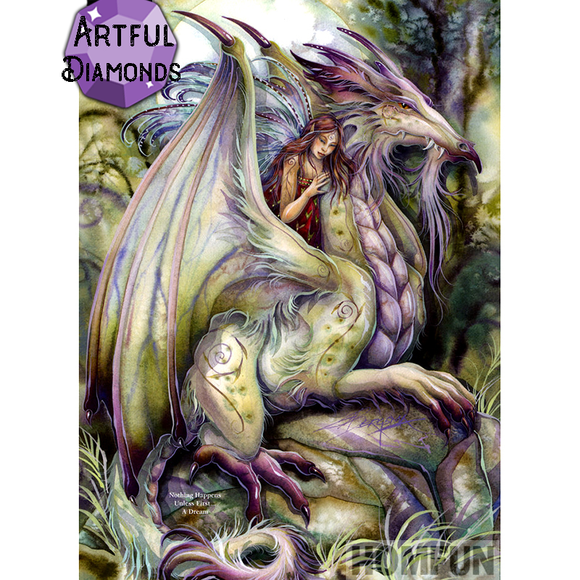 Dragon Fairy Victoria Diamond Painting Kit