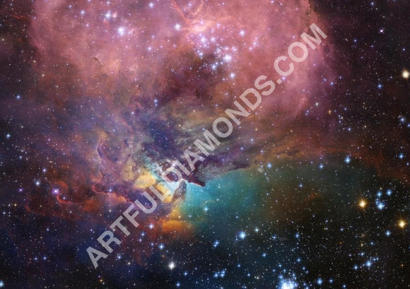 Galaxy Nebula Universe 5D Diamond Painting Kit