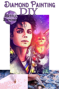 Michael Jackson Gremlin Diamond Painting Kit