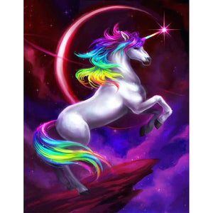 Night Sky Unicorn Diamond Painting Kit