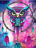 Sweet Dreams Owl 5D Diamond Painting Kit