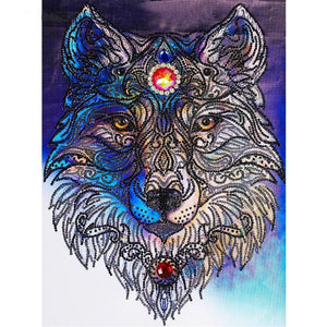 Humble Wolf Special Diamond Painting Kit