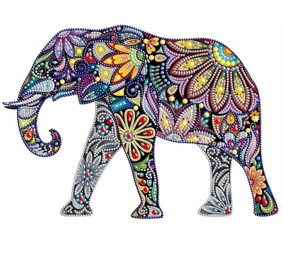 Full Elephant Special Diamond Painting