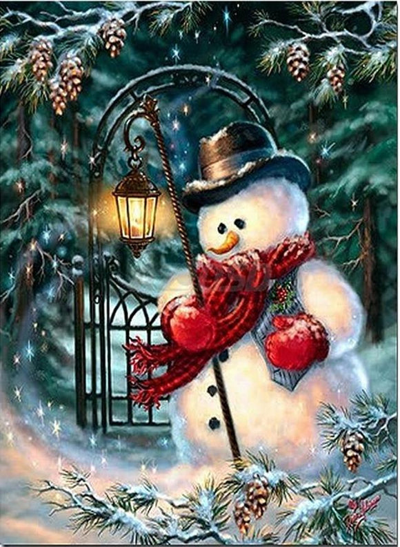 Frosty The Snowman Diamond Painting