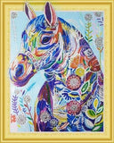 Country Horse Special Shaped Diamond Painting