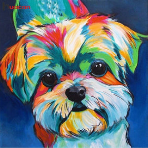 Diamond Painting Starter Kit Rainbow Dog