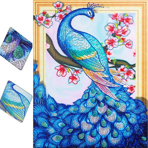 Special Peacock Diamond Painting Starter Kit