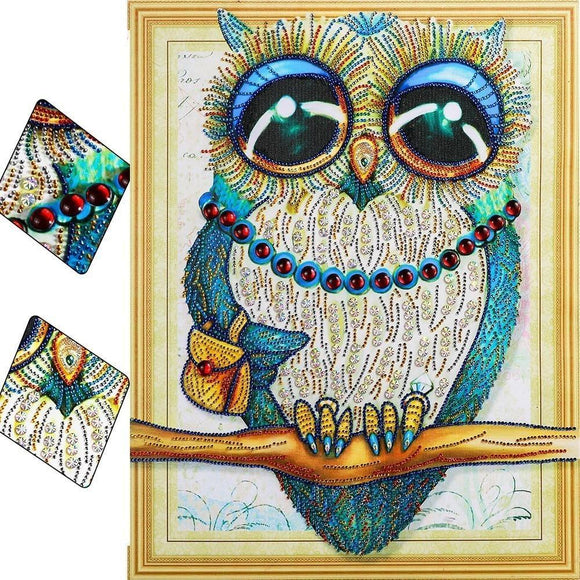 Mama Owl Diamond Painting Starter Kit Special