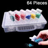64 Piece Storage & Organizer For Diamond Painting Drills