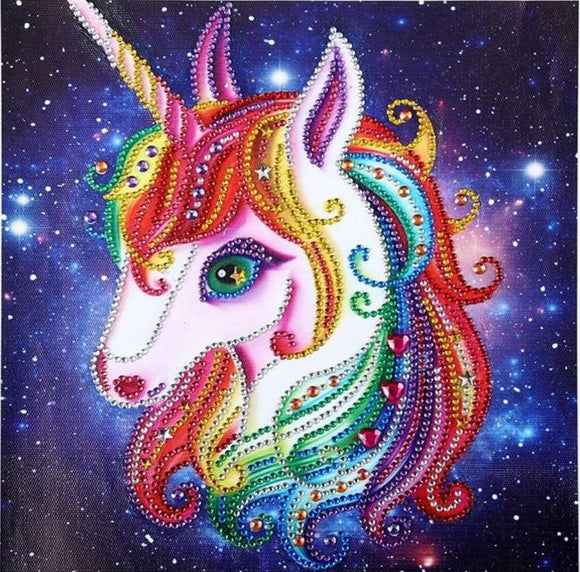 Diamond Painting Starter Kit Rainbow Unicorn Galaxy