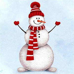 Diamond Painting Starter Kit ~ Happy Snowman