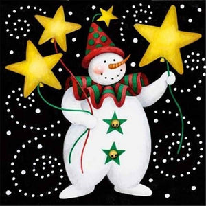 Diamond Painting Starter Kit ~ Starry Snowman
