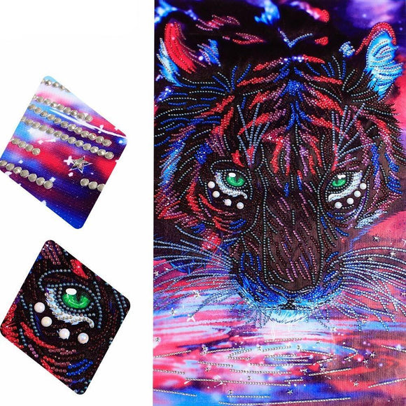 Mystical Tiger Diamond Painting Starter Kit