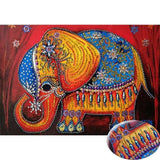 Indian Elephant Special Diamond Painting Kit