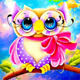 Diamond Painting Starter Kit Colorful Owls