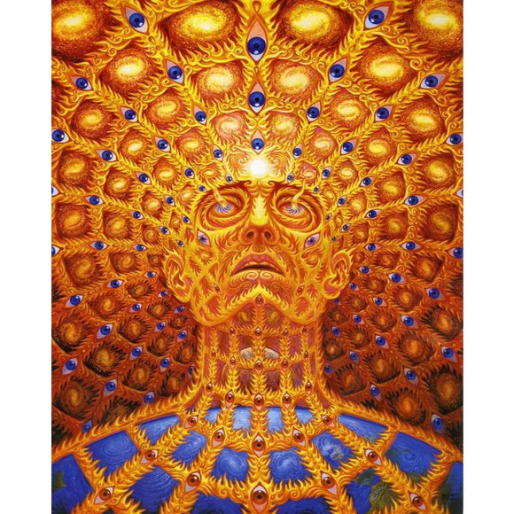 Trippy Mind Expansion Psychedelic 5D DIY Diamond Painting Kit