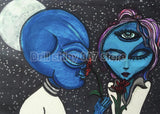 Alien Lovers 5D DIY Diamond Painting Kit
