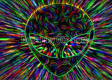 Trippy Psychedelic Alien Rainbow 5D DIY Diamond Painting Kit