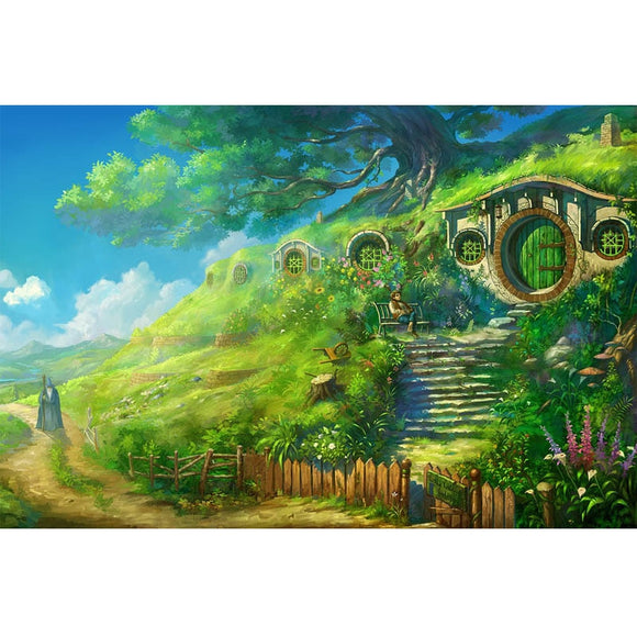 Hobbit Village 5D DIY Diamond Painting Kit