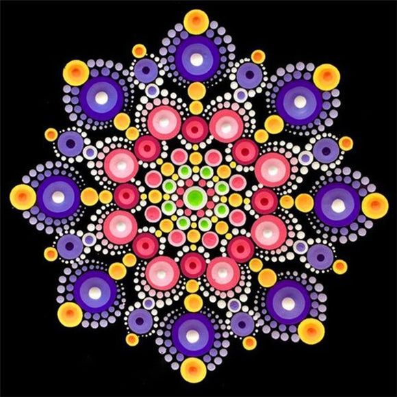 Mandala Diamond Painting Starter Kit ~ 10x10
