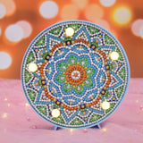 DIY Diamond Art Lamp Mandala Diamond Painting Kit