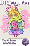 Cute Ugly Doll Monster Diamond Painting Kit
