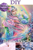 Diamond Painting Starter Kit ~ Rainbow Butterfly Princess