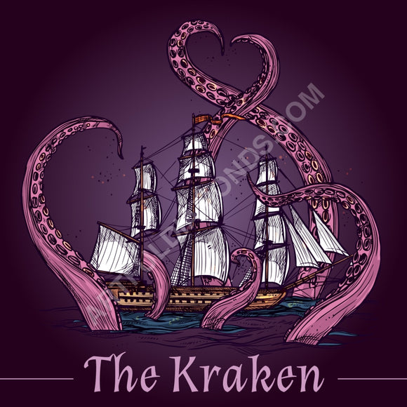 The Kraken Octopus Diamond Painting Kit