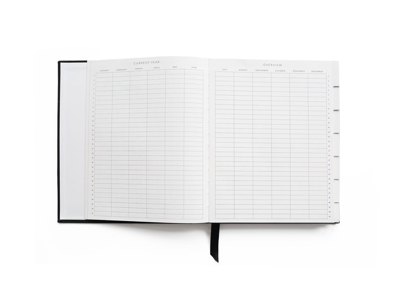 Northfolk Desk Agenda, Black