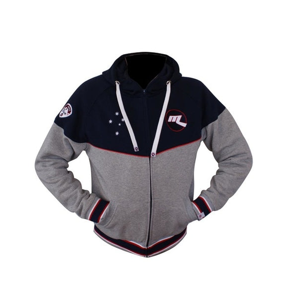 Melbourne Ice Red, White & True Hoodie
