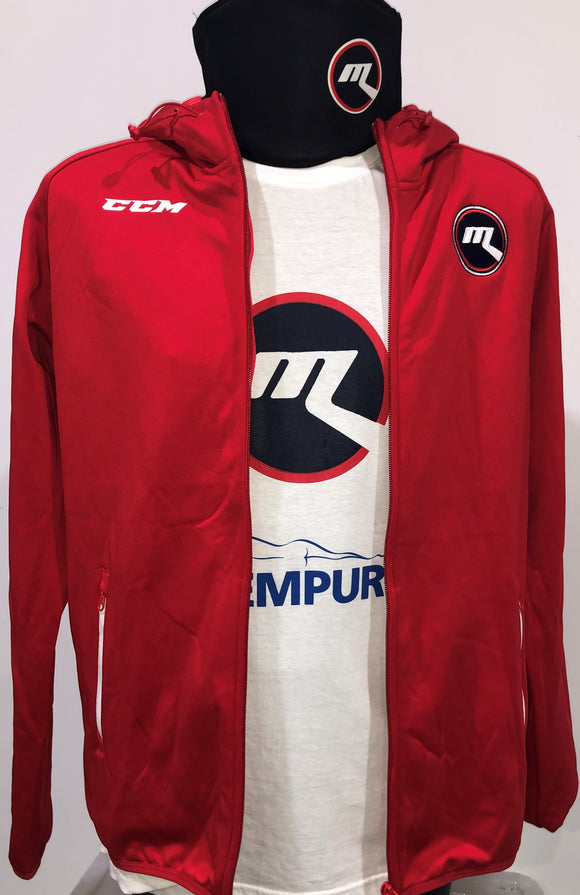 2020 New - Red CCM Ice Hoodie