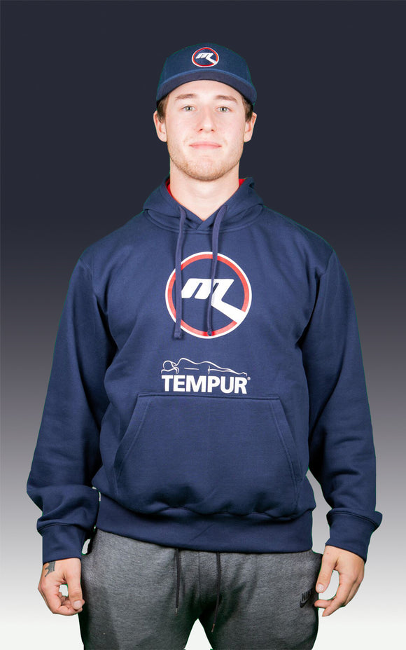 Melbourne Ice Logo Pullover Navy Hoodie