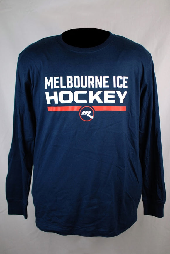 Melbourne Ice Hockey Long Sleeve T-Shirt