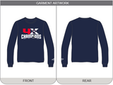Melbourne Ice 4x Champions Long Sleeve T-Shirt