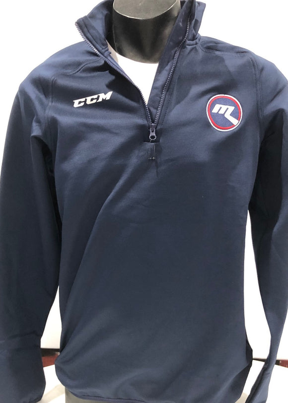 2020 New - CCM 1/4 ZIP Fleecie