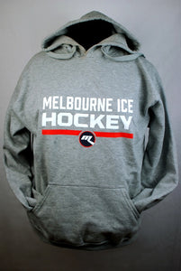 Melbourne Ice Hockey Grey Hoodie