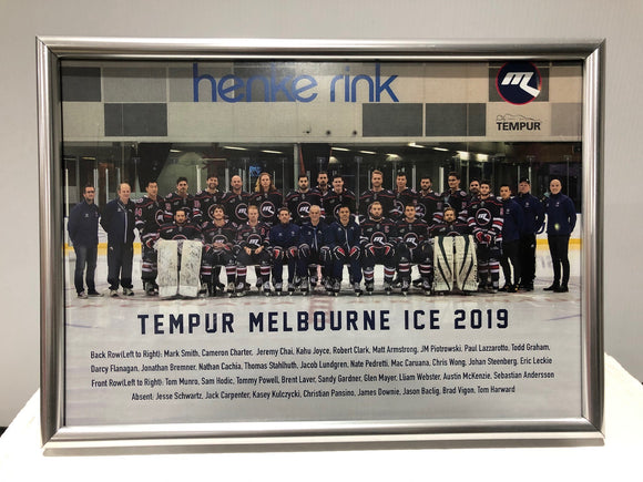 Clearance - 2019 Framed Team Photo