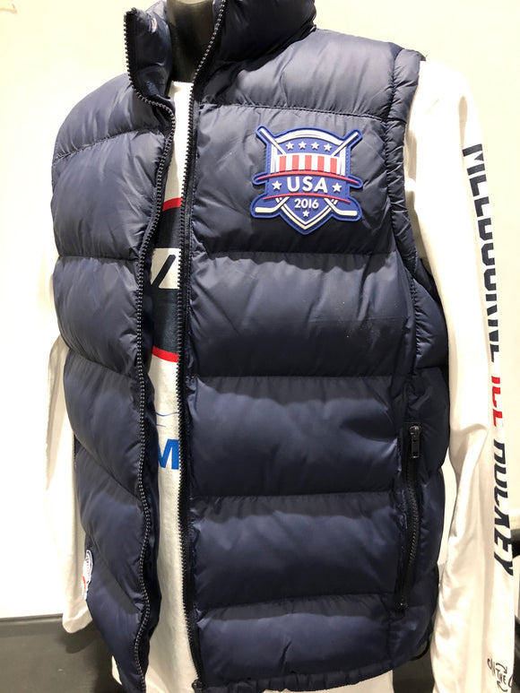Clearance - USA Puff Vest