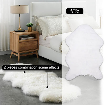 DIDIHOU Fur Artificial Sheepskin Hairy Carpet